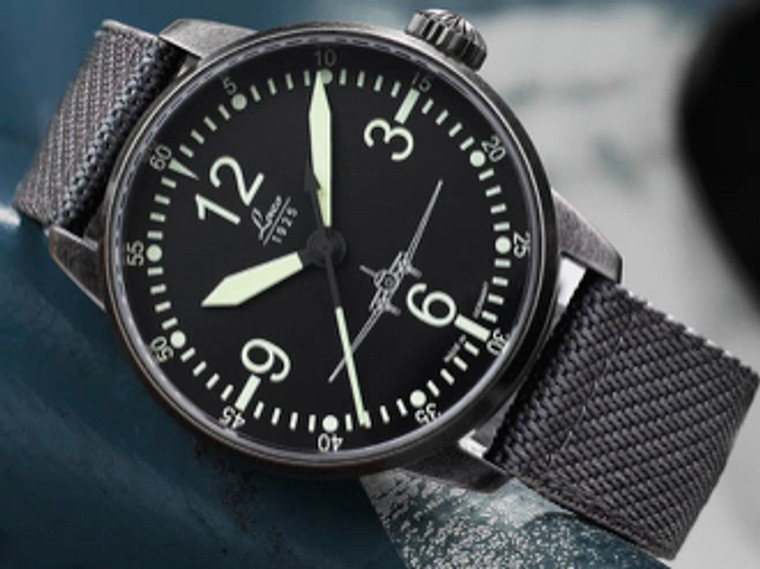 For sale online and in store,  Laco 1925 Mens PILOT DC-3 Special Model Automatic 42mm (861901)