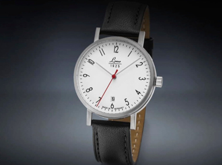 For sale online and in our Chicago store : Classic Mens Wristwatch Laco 1925 HALLE 40 mm (862072)
