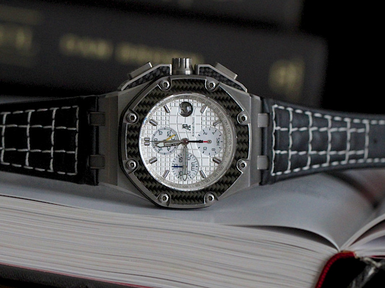 AUDEMARS PIGUET ROYAL OAK OFFSHORE CHRONOGRAPH JUAN PABLO MONTOYA LIMITED WATCH (26030IO.OO.D001IN.01)