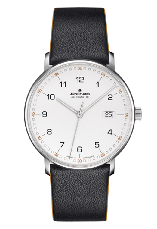 For sale JUNGHANS FORM A - AUTOMATIC MATT SILVER DIAL 027/4731.00 available online www.legendoftime.com and in store Legend of Time Chicago Watch Center