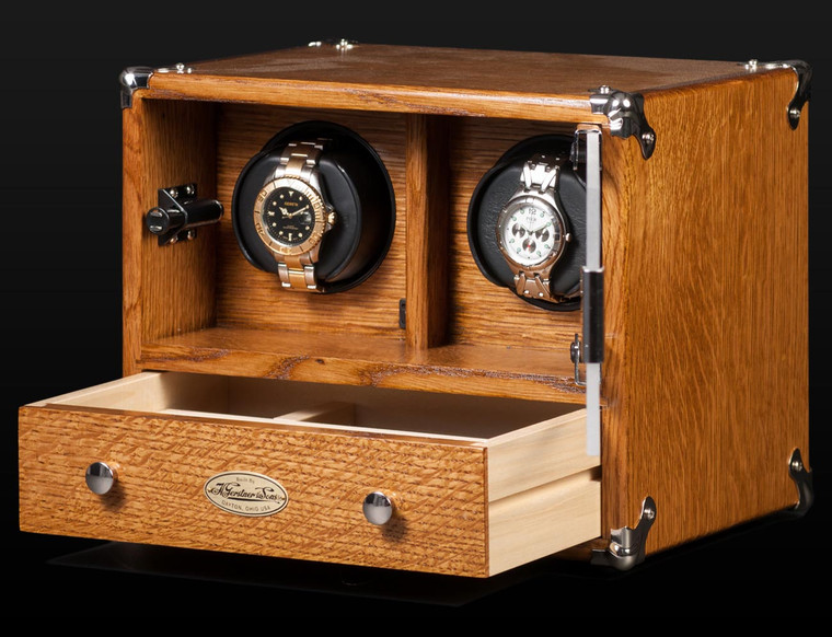 For Sale online Orbita The GERSTNER Watch Winder Golden Oak Chest Automatic Watchwinding System - Authorized Dealer in Chicago Legend of Time