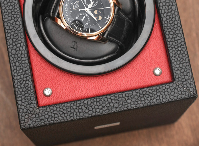 For sale Orbita PICCOLO Single Rotorwind Watch Winder RED - Authorized dealers in Chicago - Legend of Time