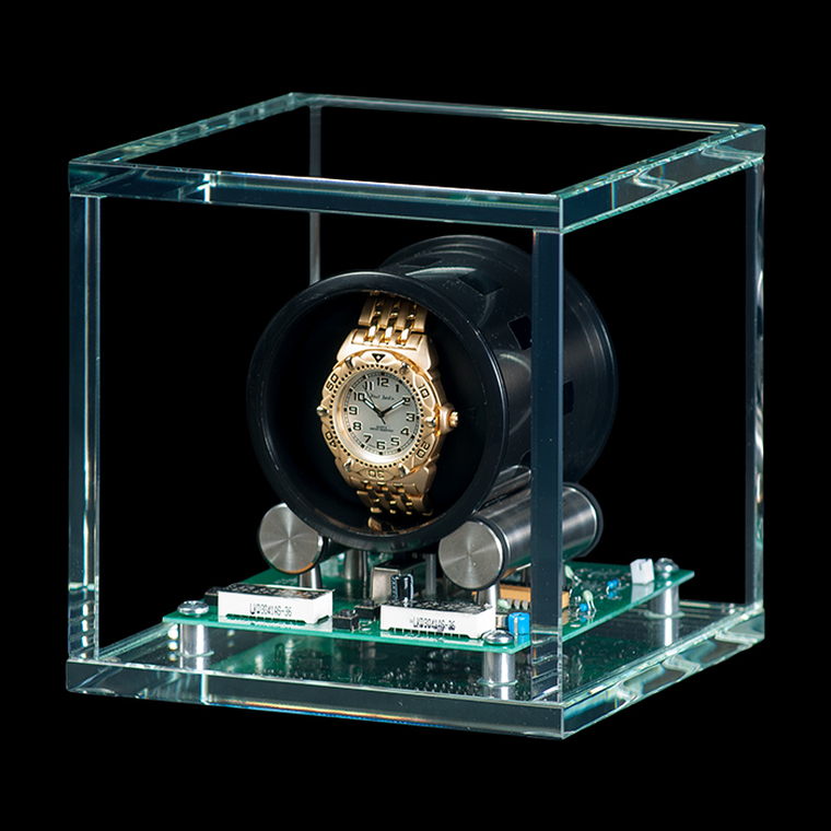 For Sale - Orbita TOURBILLON Single Crystal Glass Watch Winder - Legend of Time Chicago Watch Center