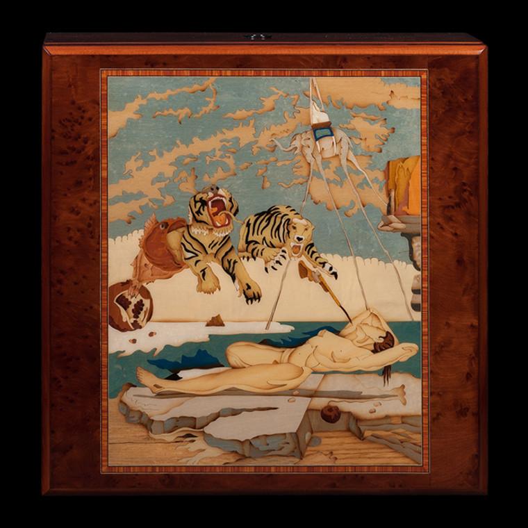 For Sale - Orbita Limited Edition Artist Guiseppe Miniero Salvador Dali Rotorwind WatchWinder
