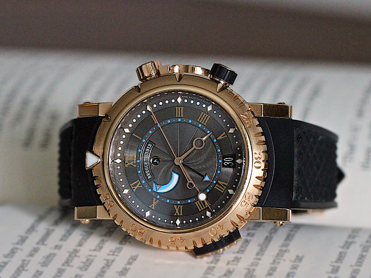 For sale Breguet Marine Royale 18kt Rose Gold ALARM preowned reference number 5847 available online www.legendoftime.com and in store in Chicago.