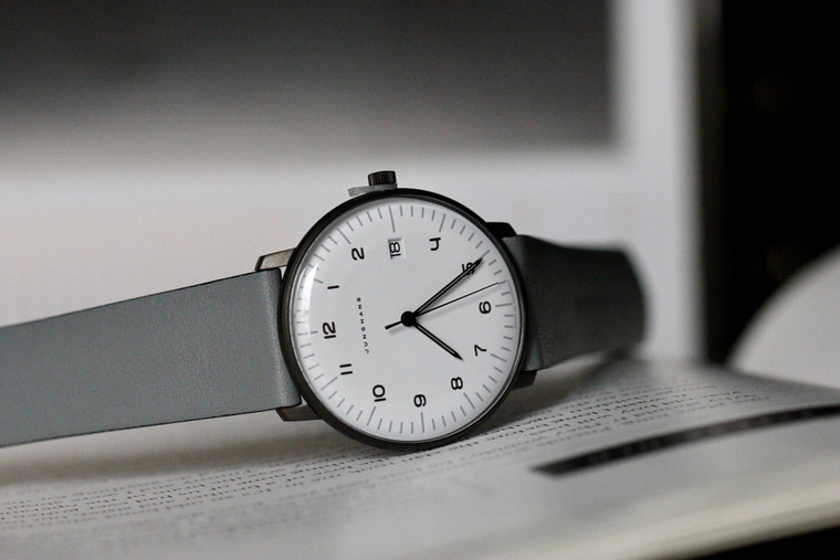 For sale JUNGHANS MAX BILL QUARZ 041/4064.04 watch.     Made in Germany