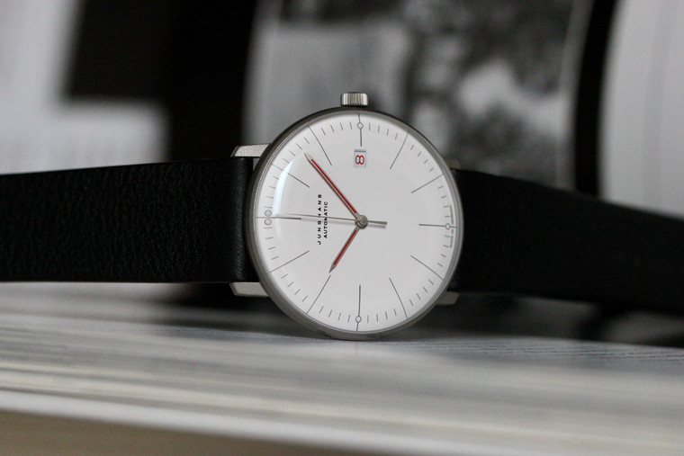 For sale Junghans MAX BILL AUTOMATIC BAUHAUS 027/4009.02 Special Edition  Mens Automatic Watch Made in Germany
