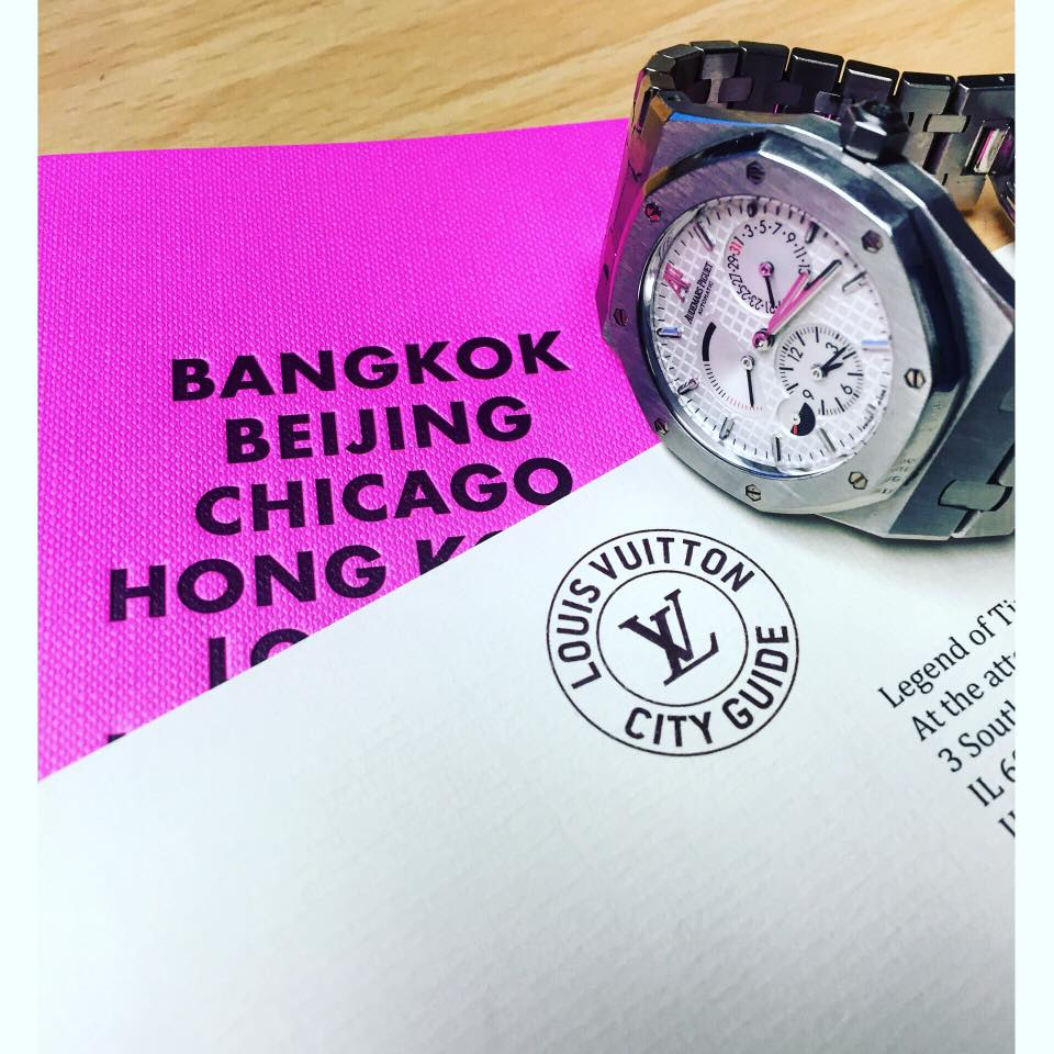 louis vuitton city guide review of legend of time chicago.