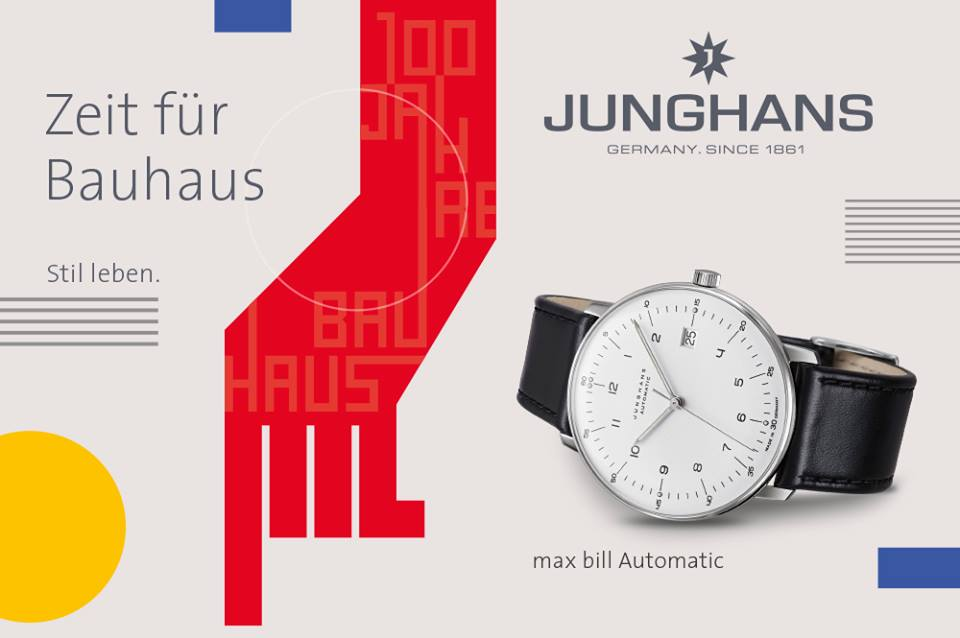 Max Bill Automatic Watch by Junghans for sale online and in store Chicago