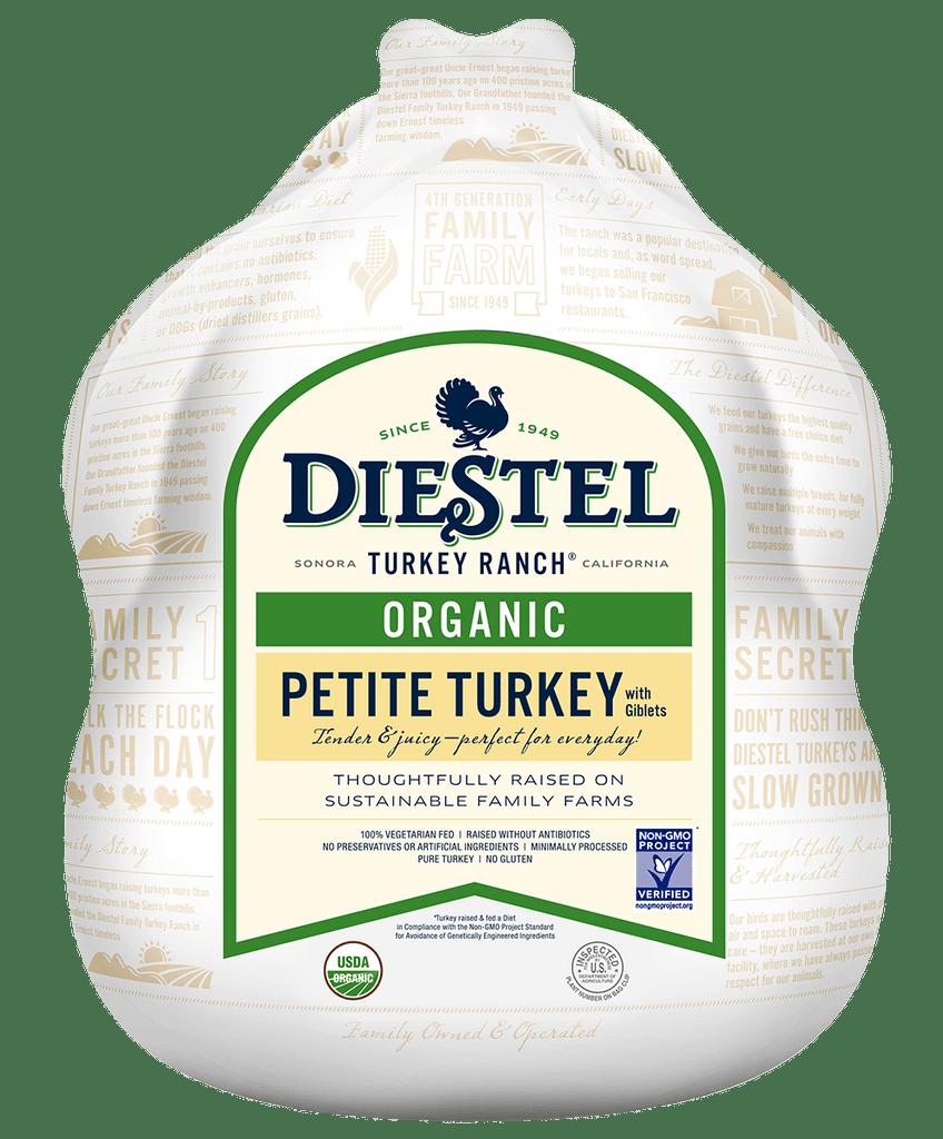 Certified Organic Whole Petite Turkey
