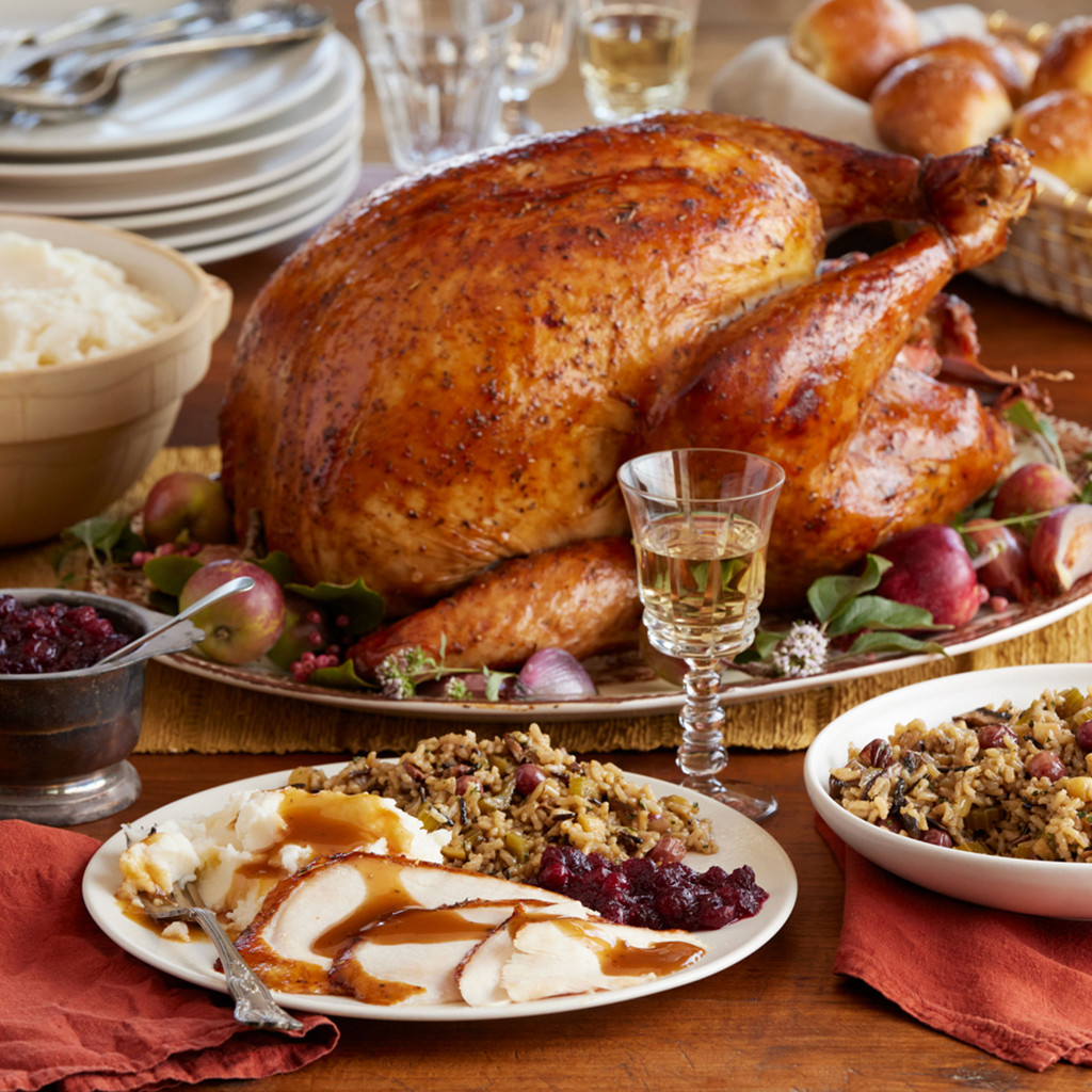 Traditional Turkey Dinner (made with Gluten-Free Ingredients) for 4 to 6