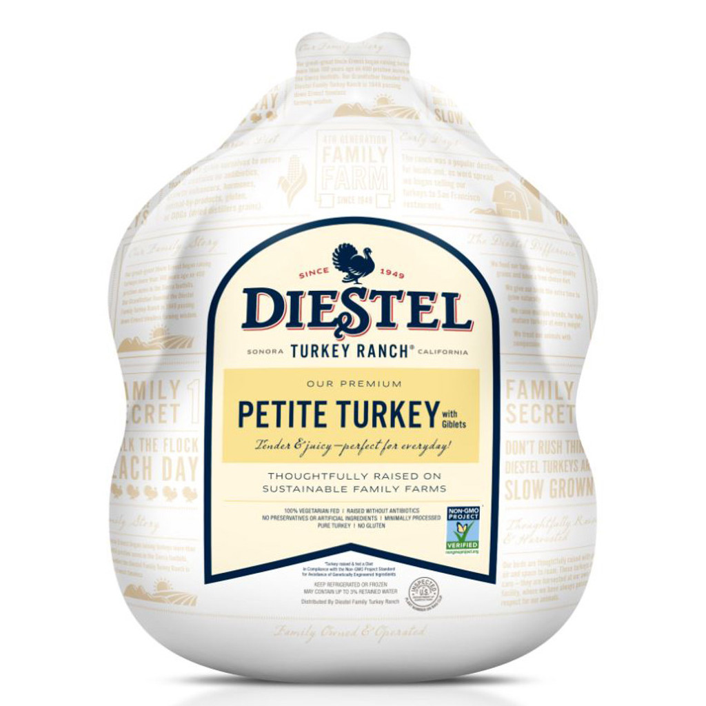 Non-GMO Project Verified Whole Petite Turkey