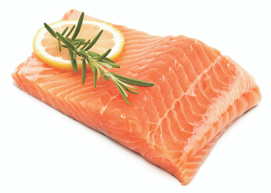 Alaskan Chinook Salmon Fillet