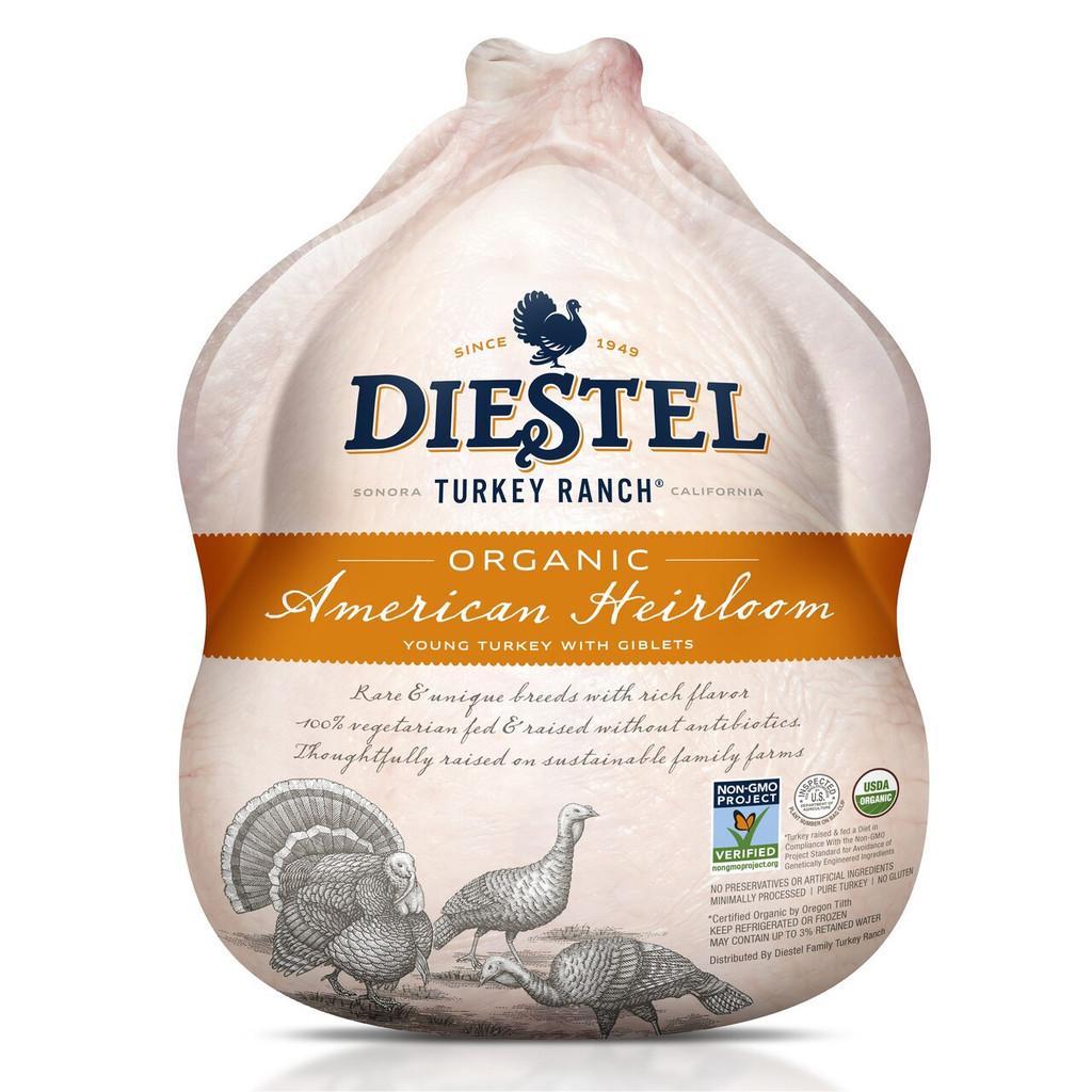 Certified Organic Heirloom Whole Turkey