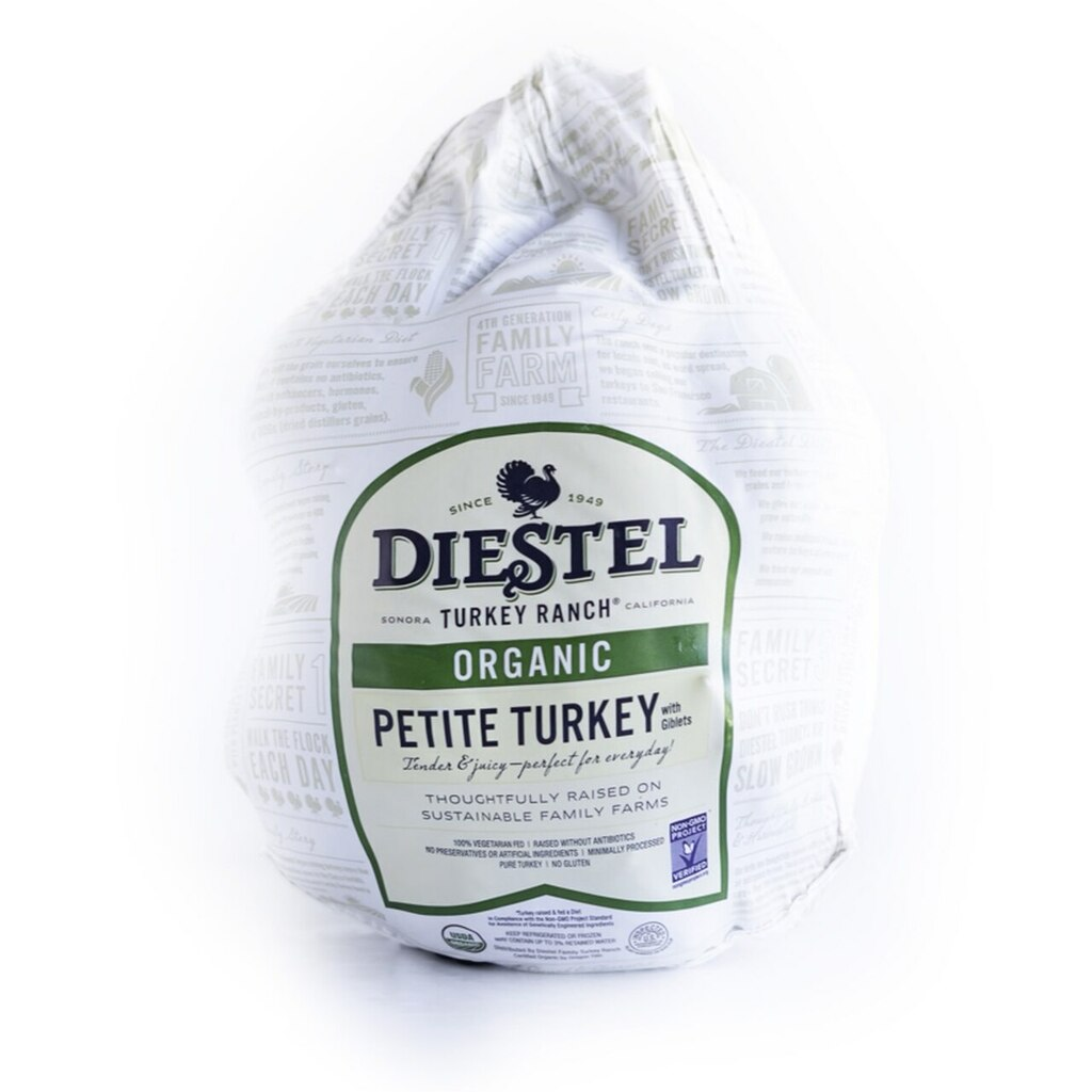 Certified Organic Petite Whole Turkey