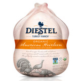 Certified Organic American Heirloom Whole Turkey