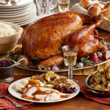Traditional Turkey Dinner for 8 to 10