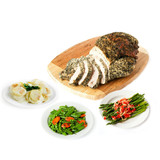Lemon Herb Turkey Breast Spring Meal Package for 4 to 6
