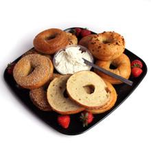 Breakfast Bagel Platter