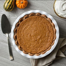 Vegan and Gluten-Free Pumpkin Pie (Seattle Area Only)