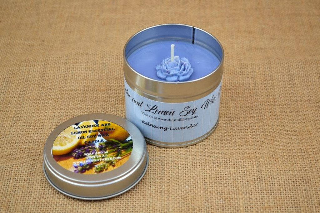 handmade essential oil candle