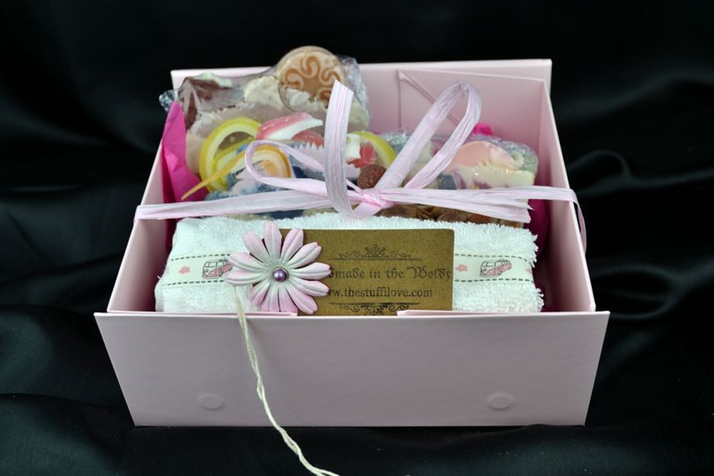 handmade soap selection gift