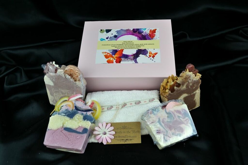 Vegan soap gift