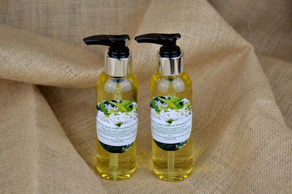 handmade skin care facial oil with argan oil