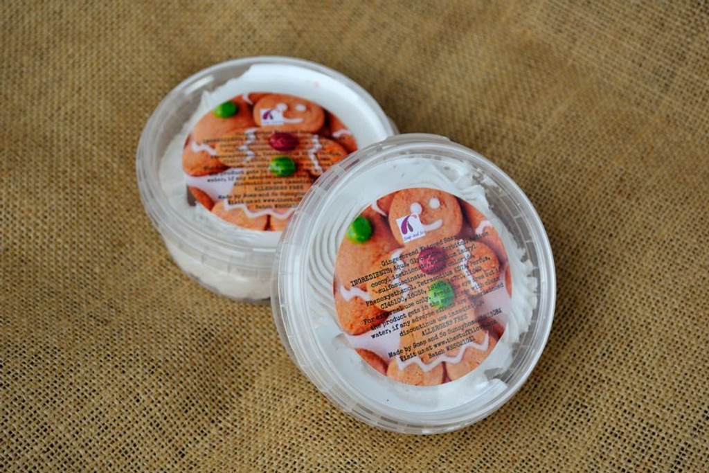 Gingerbread Whipped Soap