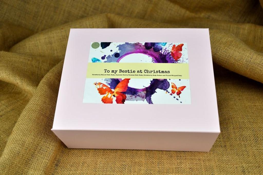 handmade bath bomb gift