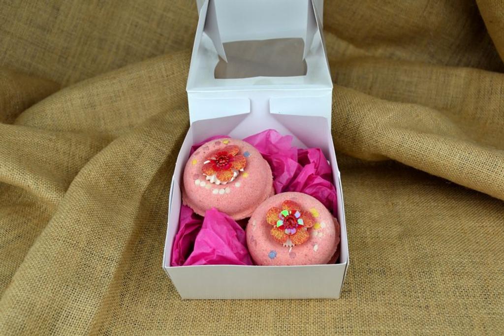 snow fairy bath bomb gift set