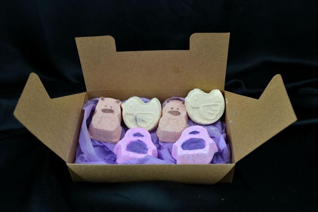 Animal Crackers Bath Gift Set