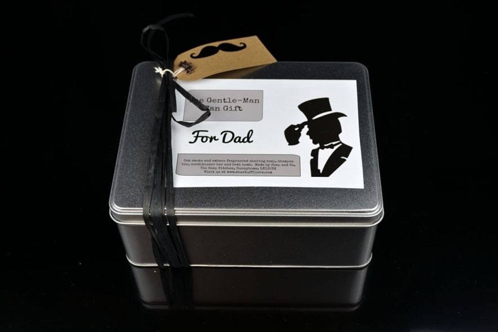 Mens bath and beauty gift