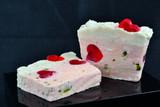 English rose soap loaf