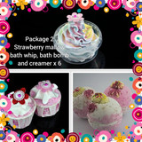 Wholesale strawberry soap, discounted bath bombs