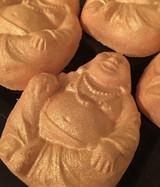 Citrus Kharma Apricot Buddha Bath Bomb x 6 in Sweet Orange and Lemongrass Oils