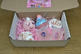 Girls bath bomb gift box