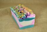 artisan soap slice