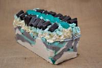 Handmade chocolate soap