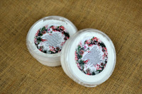 whipped soap scrub in snow fairy
