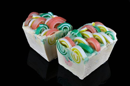 Citrus soap with essential oils of sweet orange and lemongrass