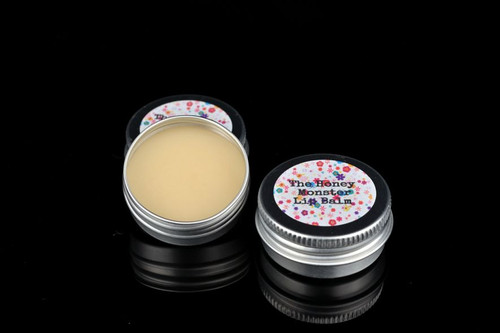 Handmade lip balm in honey