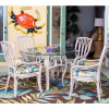 Cuba Dining Collection in Rustic Driftwood finish