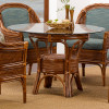 South Shore Dining Table with round glass top