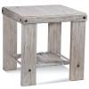 Artisan Landing Wood End Table in Hatteras finish