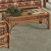 Caliente Coffee Table With Glass Top