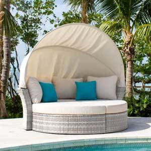 Santorini Outdoor Seating Collection