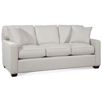 Gramercy Park 3 Seater Sofa  in fabric '0851-93 A' and Java finish