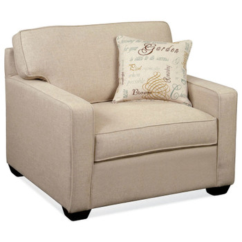 Gramercy Park Lounge Chair in Java finish