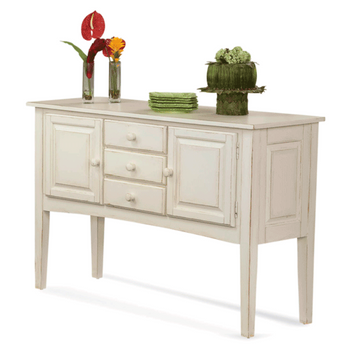 Hues Buffet in Antique Cottage White finish